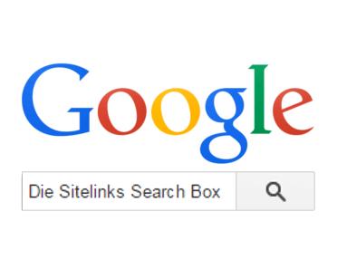 Google Sitelinks Search Box Titelbild