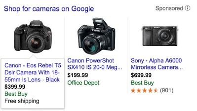 Google Shopping Erweiterungen