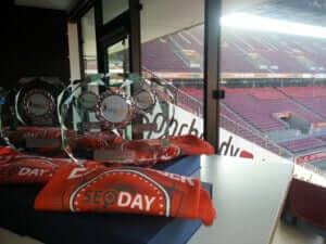 SEO Day Pokale für die Speaker