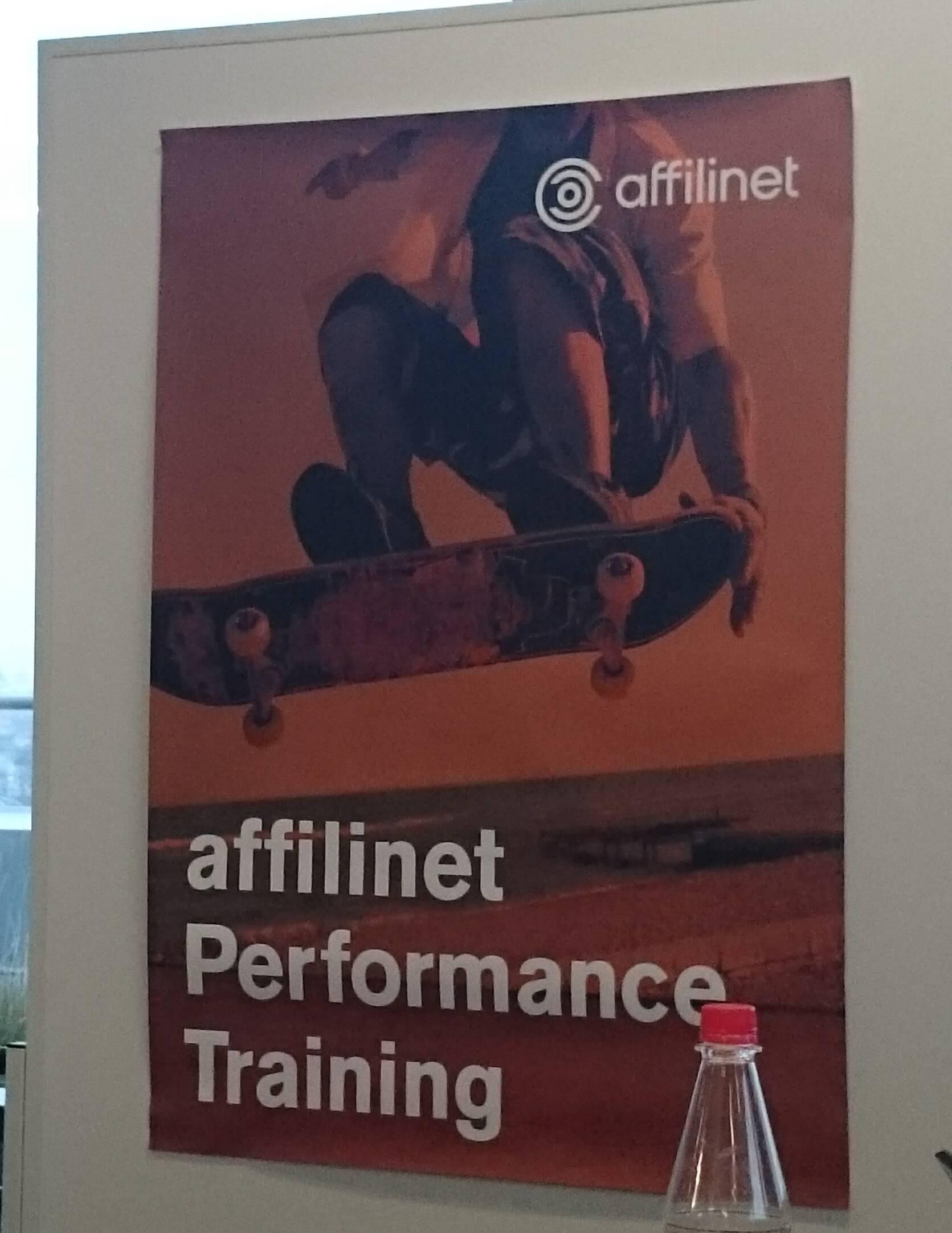 affilinet Performance Training 2015