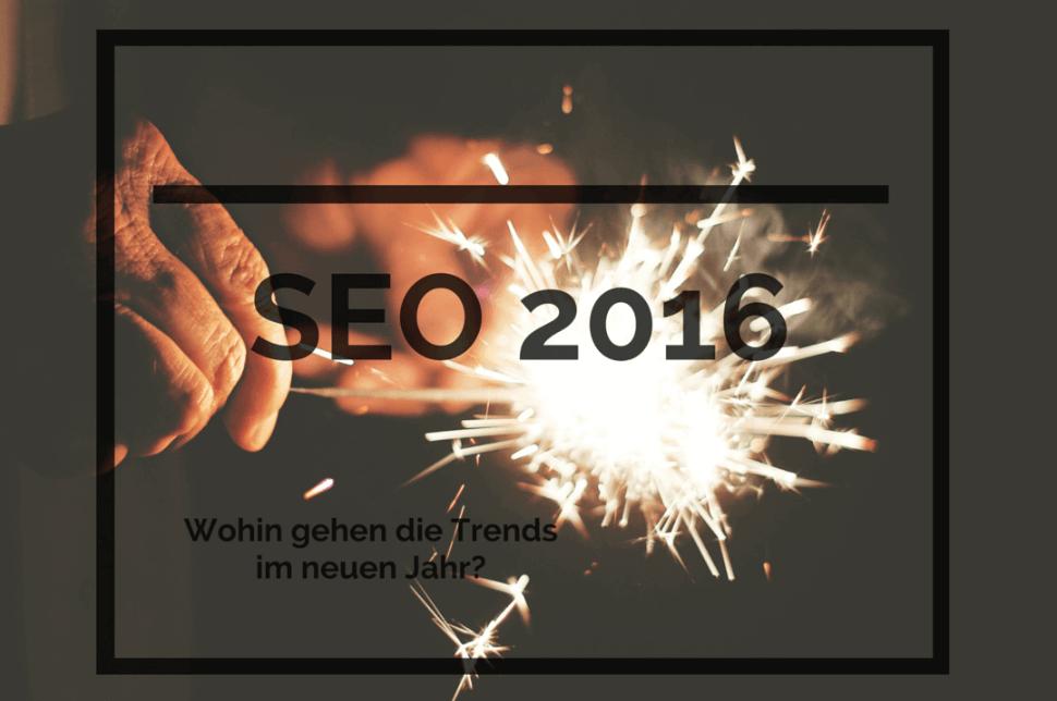 SEO Trends 2016