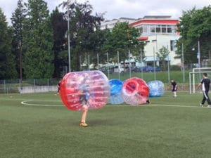Bubble Soccer Spiel