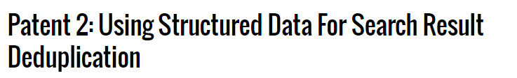 Google Patent Strukturierte Daten