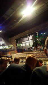Die Bar der OM-Party
