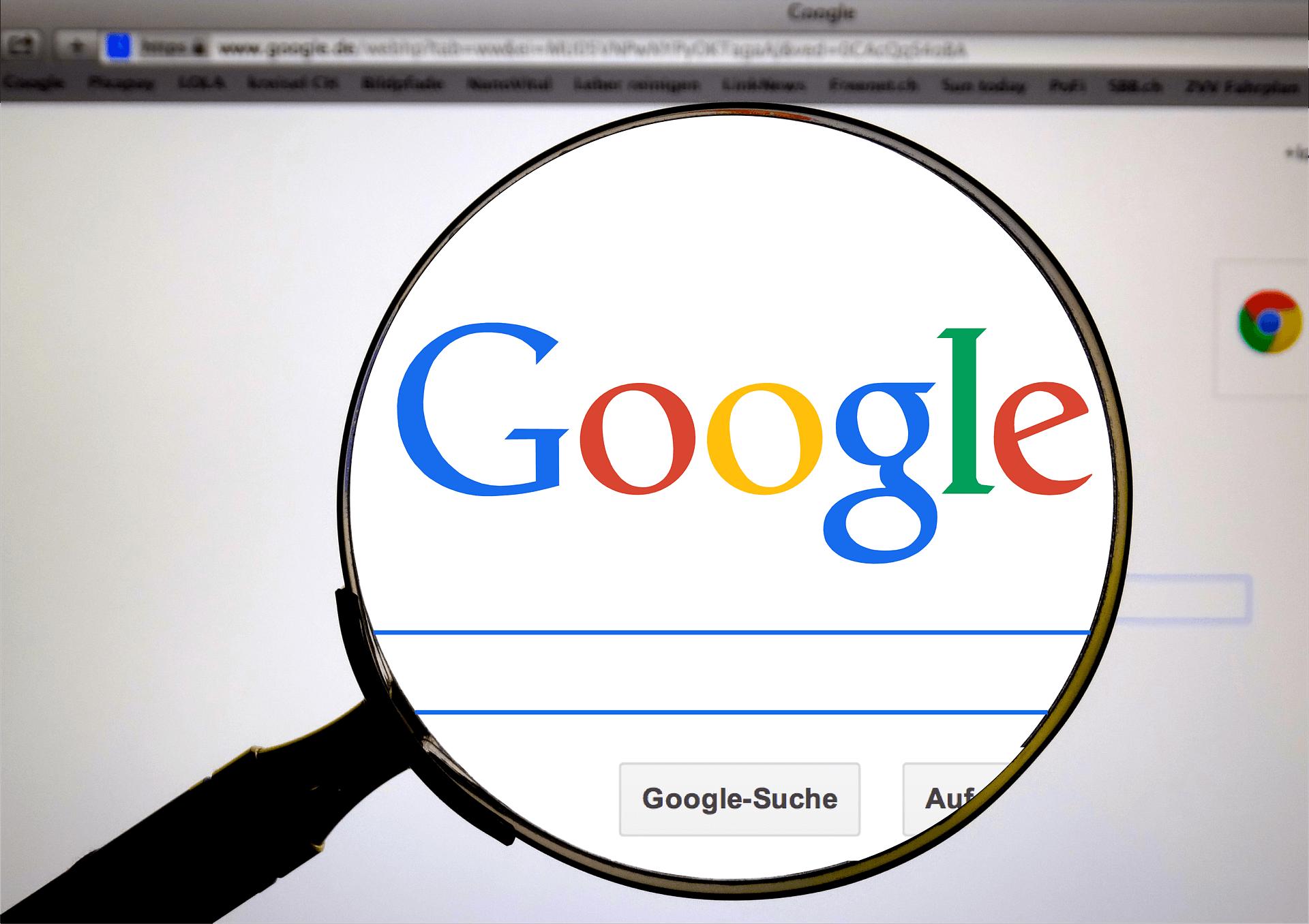Die Suche von Google