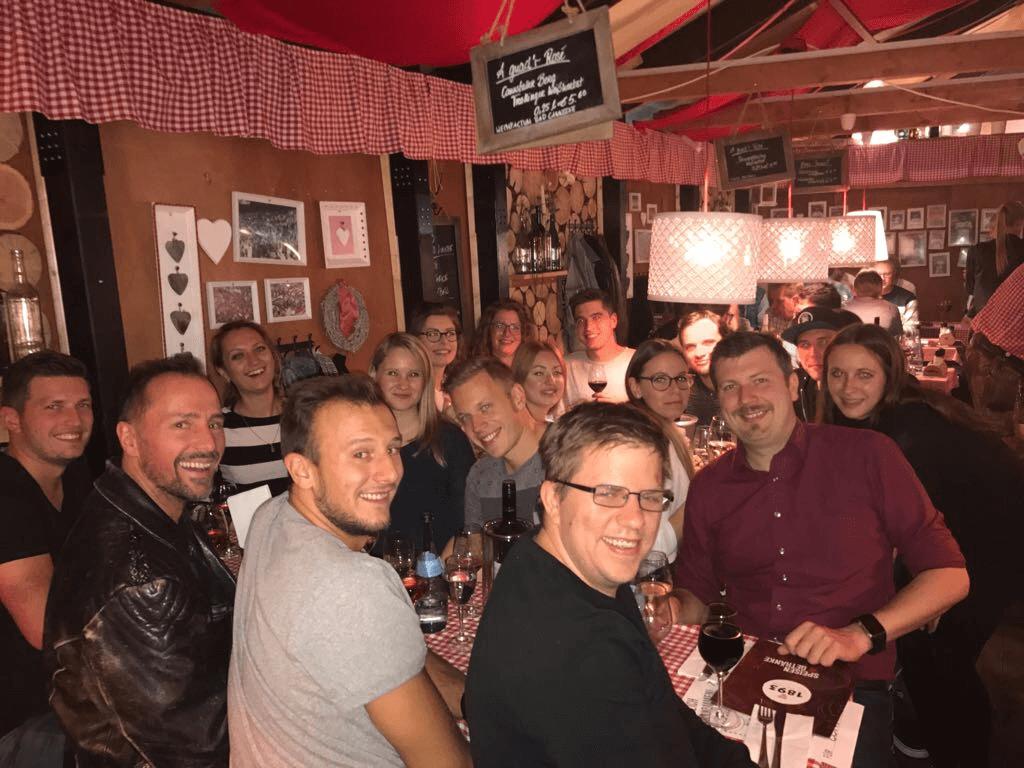 Die KlickPiloten auf dem Stuttgarter Weindorf 2017