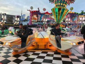 KlickPiloten beim Twister fahren