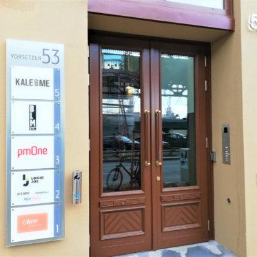 KlickPiloten Hamburg Bürogebäude Eingang Vorsetzen 53